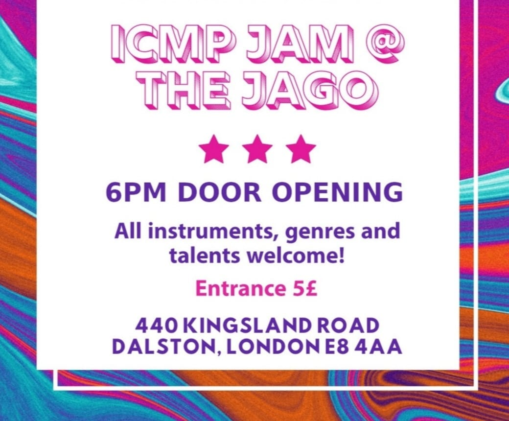 open mic and live Jam